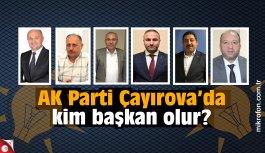AK Parti Çayırova'da kulisler hareketlendi