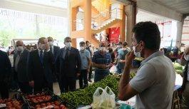 Doğu Marmara ve Batı Karadeniz'de Kovid-19 tedbirleri denetimi