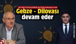 AK Parti Gebze ve Dilovası devam eder