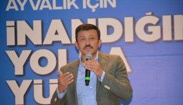 AK Parti'li Dağ, Ayvalık 7. Olağan İlçe Kongresi'nde konuştu: