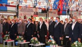 AK Parti'li Kandemir partisinin Karesi ilçe kongresinde konuştu: