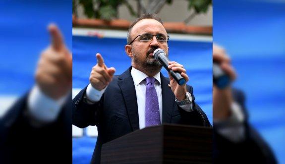 AK Parti'li Turan, partisinin Bayramiç İlçe Kongresinde konuştu: