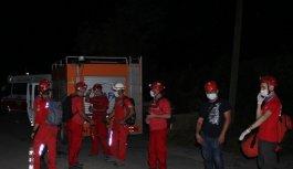 Bursa'da kestane toplamaya gittiği Uludağ'ın eteklerinden düşen kişi kurtarıldı