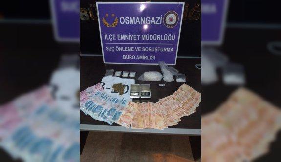 Bursa'da uyuşturucu operasyonunda iki şüpheli tutuklandı