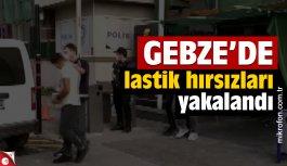 Gebze'de otomobilin yedek lastiğini çalan iki şüpheli tutuklandı