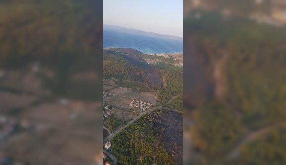 GÜNCELLEME 5 - Balıkesir'deki orman yangını kontrol altına alındı