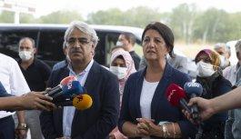 HDP Eş Genel başkanları Buldan ve Sancar, Demirtaş ve Zeydan ile görüştü