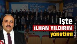 AK Parti Dilovası İlhan Yıldırım'ın yönetim kurulu