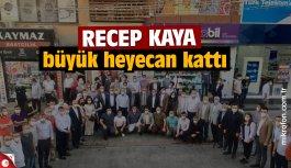 Recep Kaya AK Parti Gebze'ye heyecan kattı