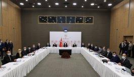 Sağlık Bakanı Koca, 5 ilin sağlık müdürleri ve saha koordinatörleriyle görüştü: (2)