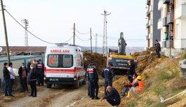 Tekirdağ'da cezaevi inşaatında toprak altında kalan işçi hayatını kaybetti