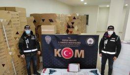 Bursa'da kaçak sigara operasyonunda 2 kişi yakalandı