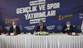 Gençlik ve Spor Bakanlığından Erzincan'a yatırım