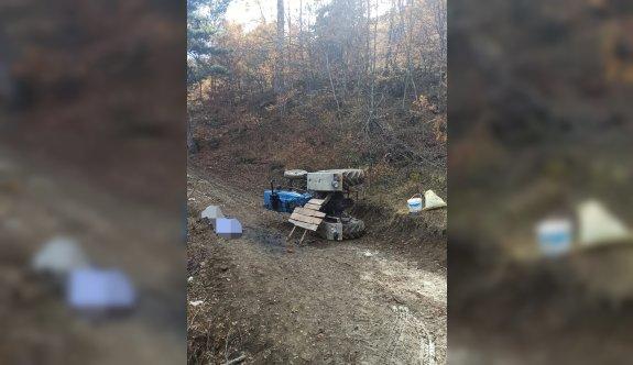Sakarya'da traktör devrildi: 2 ölü, 1 yaralı