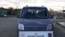 Kocaeli'de 5 yıl önce çalınan araç İstanbul'da bulundu