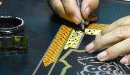 Hattat Mustafa Antika 8'inci kişisel sergisini açmaya hazırlanıyor