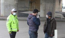 Edirne'de kısıtlamaya uymayan 332 kişiye 834 bin 300 lira ceza uygulandı