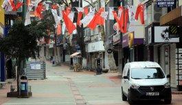 Doğu Marmara ve Batı Karadeniz'de cadde ve sokaklarda sessizlik hakim oldu