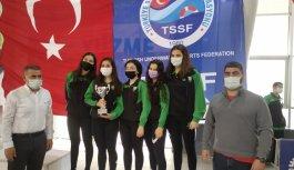 Paletli Yüzme Kulüpler Arası Gençler Türkiye Şampiyonası sona erdi