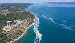 Tarihi Gelibolu Yarımadası sahilinde müsilaj yoğunluğu arttı