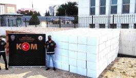 Bursa'da 9 milyon 400 bin kaçak makaron ele geçirildi