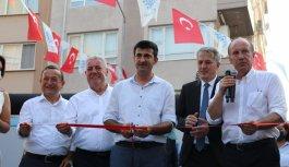Memleket Partisi Genel Başkanı İnce, Yalova'da partisinin il ve merkez ilçe binasını açtı