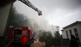 Bursa'da Ormancılık Müzesi'nin müştemilatında çıkan yangın söndürüldü