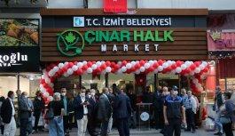CHP Grup Başkanvekili Özel, İzmit'te Çınar Halk Market'in açılışına katıldı: