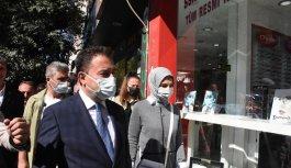 DEVA Partisi Genel Başkanı Babacan, partisinin İnegöl ilçe başkanlığının açılışını yaptı