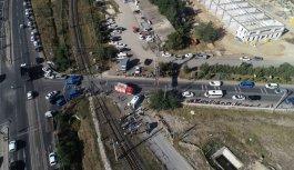 GÜNCELLEME 2 - Tekirdağ'da yük treni işçileri taşıyan minibüse çarptı: 6 ölü, 7 yaralı