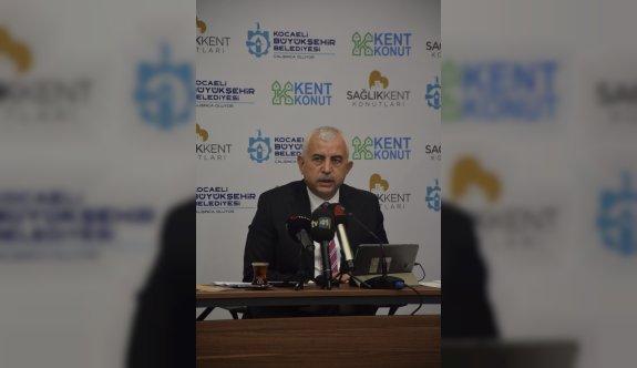 Kocaeli'de sağlık çalışanları için yapılacak konut projesi tanıtıldı