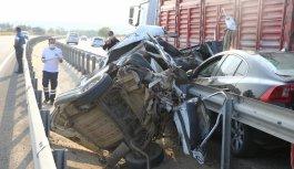 Tekirdağ'da çalıntı araçla kaza yapan 17 yaşındaki sürücü öldü