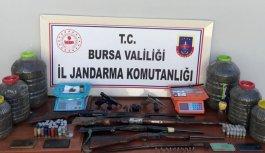 Bursa'daki uyuşturucu operasyonunda 5 şüpheli yakalandı