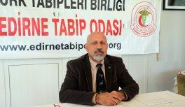 Edirne Tabip Odası Başkanı Prof. Dr. Altun'dan