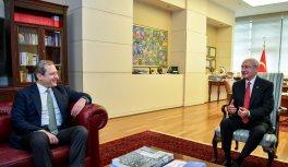 Galatasaray Başkanı Burak Elmas'ın Ankara ziyareti
