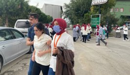 GÜNCELLEME  - Bursa'da fabrikada çıkan yangına müdahale ediliyor