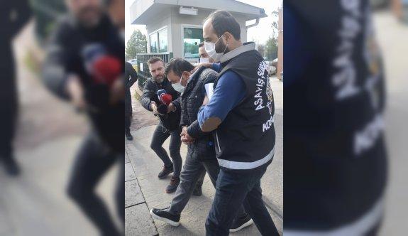 Kocaeli'de otomobille uygulamadan kaçarken sürüklediği polisi yaralayan sürücü adliyede