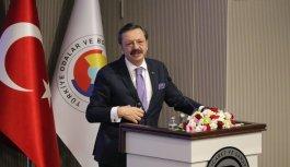 TOBB Başkanı Hisarcıklıoğlu, Yalova'da hizmet binası açılışına katıldı: