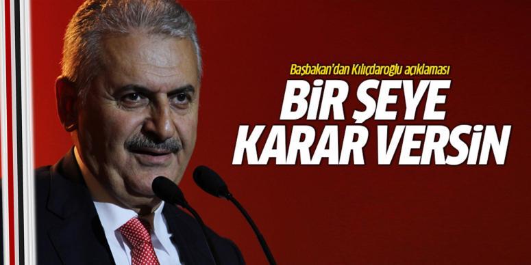 Kılıçdaroğlu da bir şeye karar versin