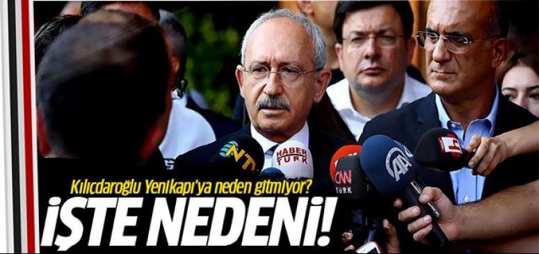 Kılıçdaroğlu'nun mitinge katılmama nedeni