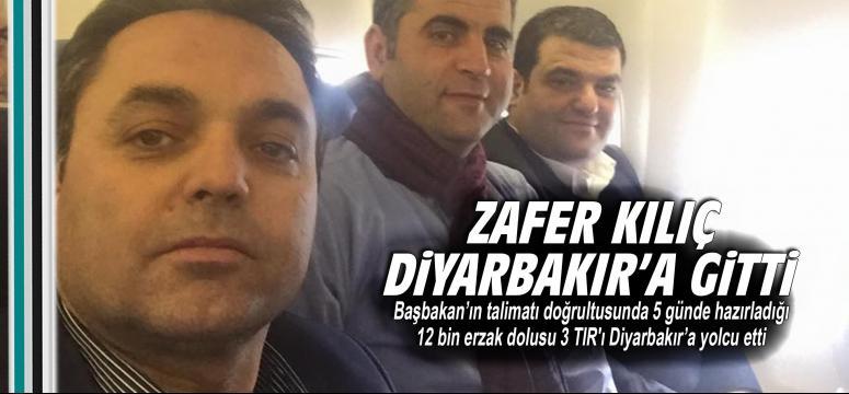 Zafer Kılıç Diyarbakır'a gitti