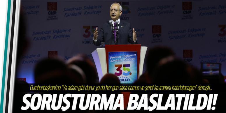 Kılıçdaroğlu'nun Erdoğan ifadelerine soruşturma başlatıldı