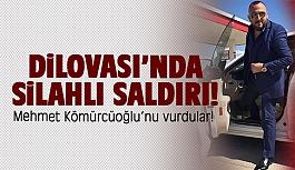 Mehmet Kömürcüoğlu'nu vurdular!
