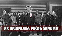 Başkan Köşker AK Kadınlara projeleri anlattı