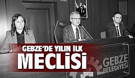 Gebze'de yılın ilk meclisi