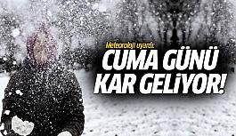 Yeniden kar geliyor...