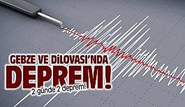 Gebze ve Dilovası'nda deprem!