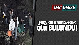 Gebze'de bonzai içen 17 yaşındaki genç ölü bulundu