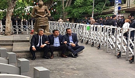 CHP milletvekilleri eylemde