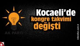 AK Parti Kocaeli'de kongre takvimi...